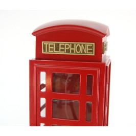 Декоративен дървен шкаф - телефонна кабина