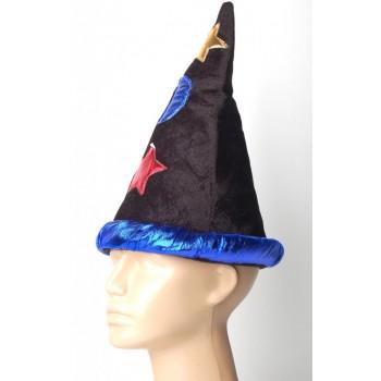 Забавна карнавална шапка от нежно кадифе, подходяща за партита