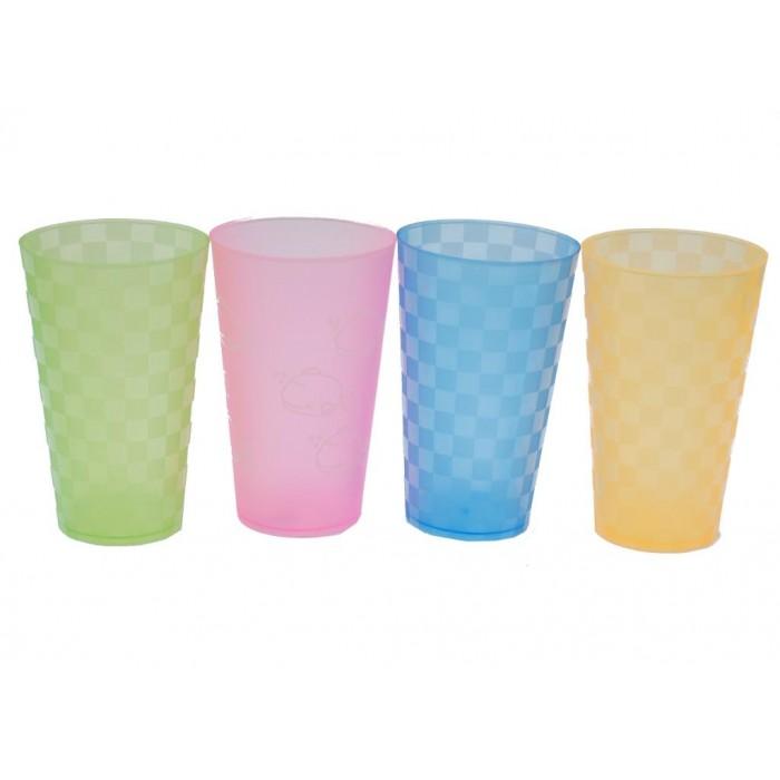 Цветна PVC чаша с орнаменти