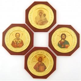 Икона върху дървена плочка