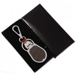 Ключодържател, изработен от метал и изкуствена кожа с емблема на VOLKSWAGEN