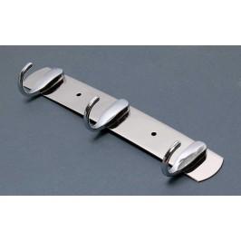 Метална закачалка за дрехи - 3 бр