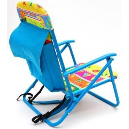 Сгъваемо столче с носеща конструкция - метал, седалка - текстил с различни мотиви