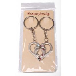Ключодържател за влюбени от две части закрепени с магнитче