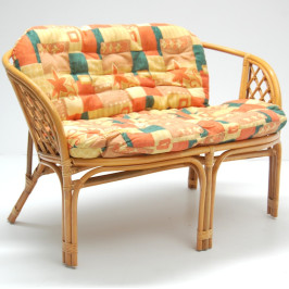 Комплект мебели - натурален ратан в светъл цвят