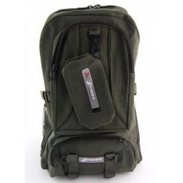 Спортна раница брезент с голями джобове с цип, портфейл и удобни регулируеми презрамки