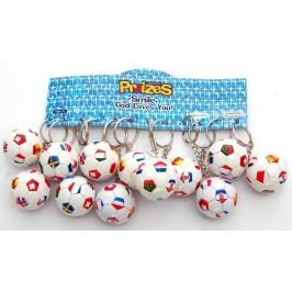 Сувенирен ключодържател - футболна топка - 4см