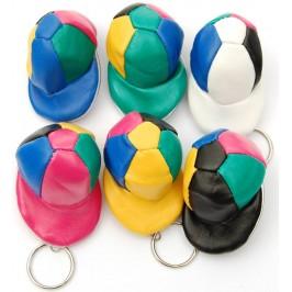 Сувенирен ключодържател - бейзболна шапка с цип