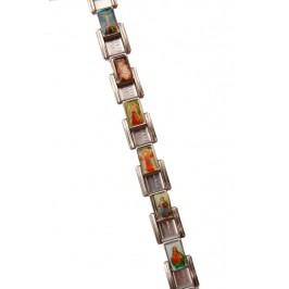Гривна с 18 метални плочки с икони