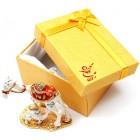 Декоративна метална кутийка за бижута - Камила с малкото си