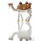 Декоративна метална кутийка за бижута - двугърба камила