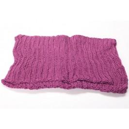 Плетен дамски шал тип бурка, подходящ за студените зимни дни