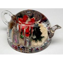 Преспапие - поставка за химикали във формата на чайник