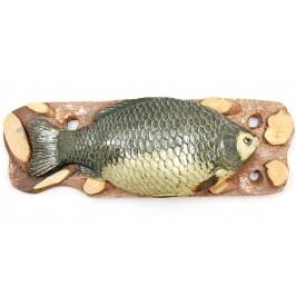 Сувенирно пано - риба върху поставка за окачване