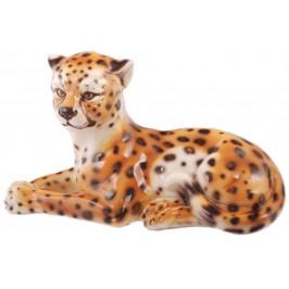 Декоративна фигура - леопард/ тигър, изработен от порцелан