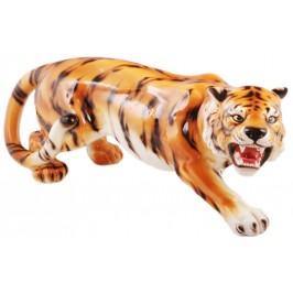 Декоративна фигура - тигър, изработен от порцелан