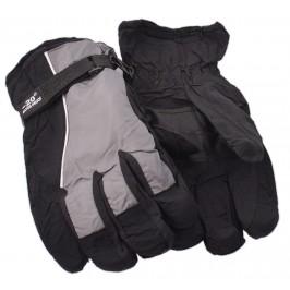 Мъжки спортни скиорски ръкавици от импрегнирана материя с текстилни маншети и регулатор за широчина на китката