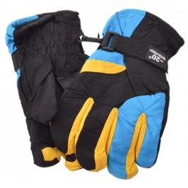 Дамски спортни скиорски ръкавици от импрегнирана материя с текстилни маншети и регулатор за широчина на китката