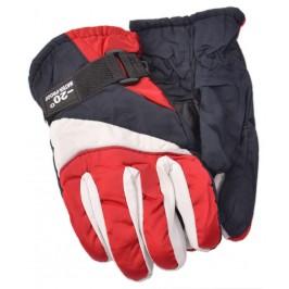 Малки спортни скиорски ръкавици от импрегнирана материя с текстилни маншети и регулатор за широчина на китката