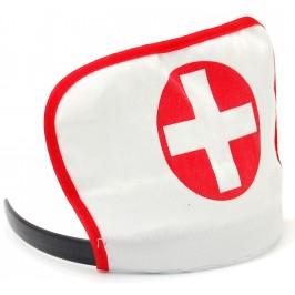 Диадема с кръст, подходящ аксесоар към всеки костюм на медицинска сестра