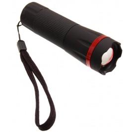 Светодиоден гумиран фенер с оптично увеличение