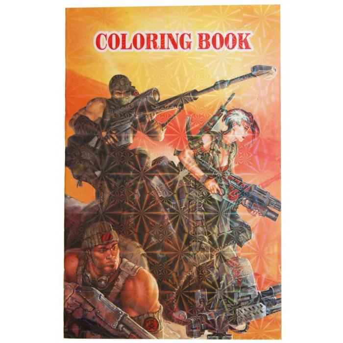 Книжка за оцветяване с 8бр