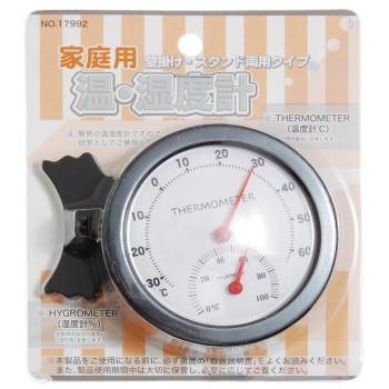 Настолен термометър с мерител на влажноста и поставка