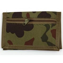 Мъжки портфейл, изработен от камуфлажен брезентен плат