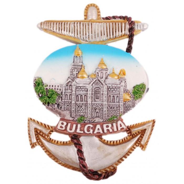 Сувенирна фигурка котва с магнит - катедрала