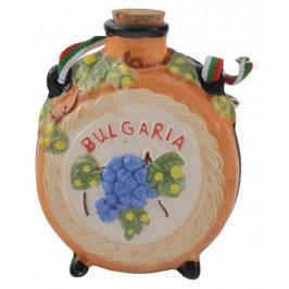 Сувенирна релефна бъклица порцелан - Балчик