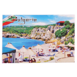 Неогъваща се магнитна пластинка - плаж, България