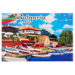 Неогъваща се магнитна пластинка - лодки, България