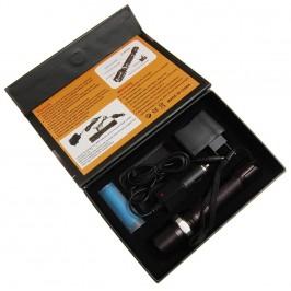 Диоден акумулаторен фенер с оптично увеличение