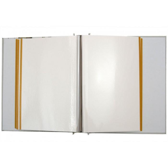 Красив фотоалбум за 40 листа за 100 снимки със самозалепващ прозрачен филм и твърди корици в кутия