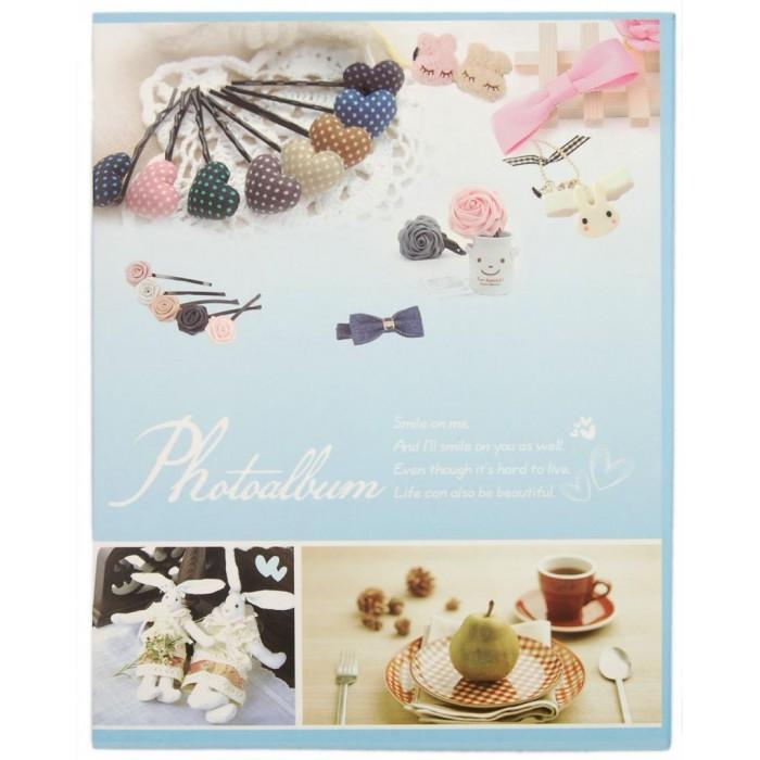 Красив фотоалбум с 40 листа за 80 снимки и твърди корици в кутия