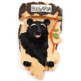 Декоративна фигурка с кука за закачване - диво животно- мечка
