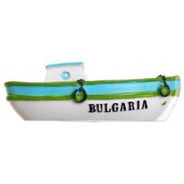 Декоративна фигурка с магнит- рибарска лодка