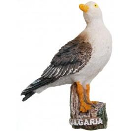 Декоративна релефна фигурка - чайка