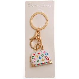 Сувенирен метален ключодържател - дамска чанта