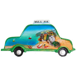 Декоративна фигурка с магнит - такси