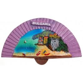 Декоративна фигурка с магнит - ветрило - морски пейзаж