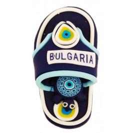Сувенирна гумена фигурка с магнит - чехъл с надпис България