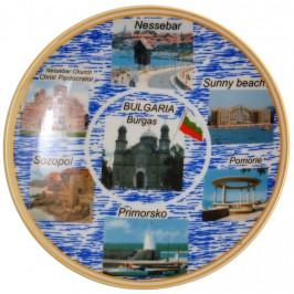 Сувенирна чинийка порцелан за закачване
