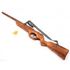 Сувенирена, дървена пушка с презрамка