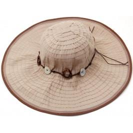 Красива дамска плетена шапка с периферия - сива