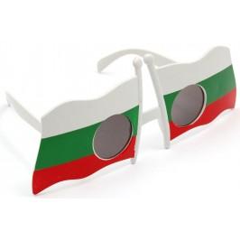 Карнавални очила - две български знамена