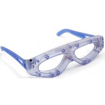 Светещи карнавални очила - спортна форма без стъкла