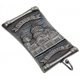 Сувенирна метална фигурка с магнит и закачалка - Храм - паметни Св