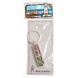 Сувенирен метален ключодържтел - свирка - забележителности от Черноморието