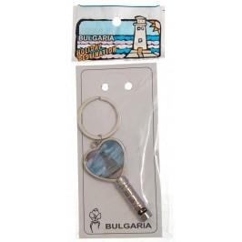 Сувенирен метален ключодържтел - свирка - Паметникът на Свободата - Шипка
